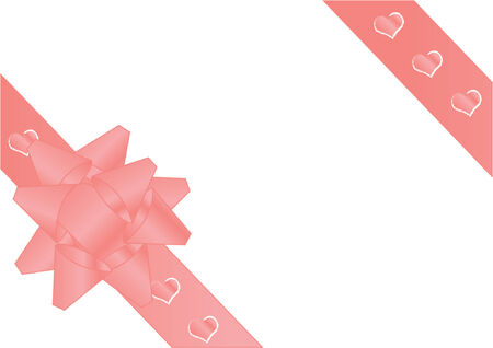 Valentines Day theme %uFFFD Bow Vector