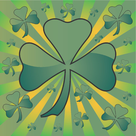 St Patrick�s Day colorful theme Vector