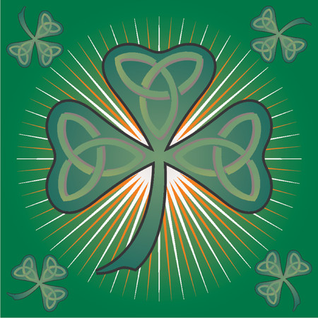 St Patrick's Day colorful theme Stock Vector - 765951