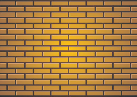 Brown brick wall suitable for backgrounds or paint some graffiti Vector