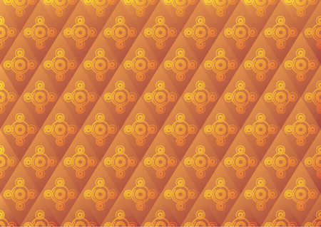Abstract wallpaper pattern with different size circles and colors Vector