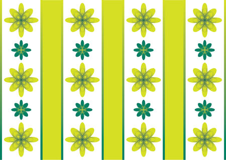 Flower pattern evoking spring time Stock Vector - 791372