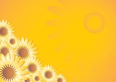 cempasuchil: Cal�ndula patr�n de color naranja sobre fondo del gradiente