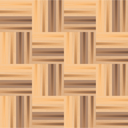 Vectorial pattern that simulates wood parquet floor