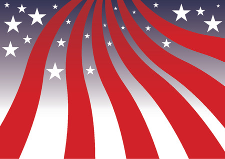 United States colors. Fourth of July background Stock Vector - 1103717
