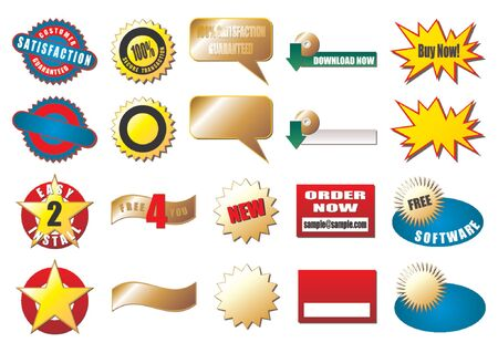 bended: Promotional tags normally used on the web. Samples and blanks
