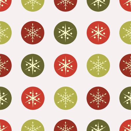 snow flakes: Kerst vierkante naadloze vintage papier sneeuwvlokken