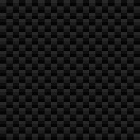 Square pattern illustration simulating carbon fiber texture