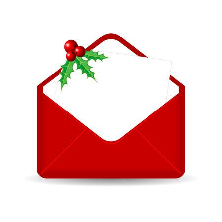 sobres para carta: Red envolvente con hoja en blanco y Santo más blanco