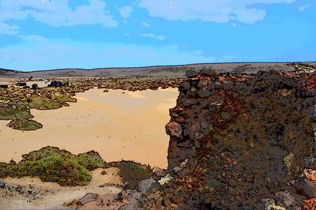 Canary Islands, Lanzarote, Playa Mujeres - Papagayo