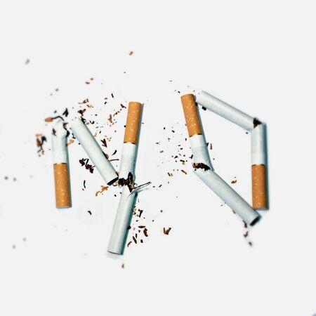 habbit: no to smoking Stock Photo