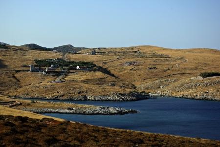 The southernmost part of Europe, Greek peninsula Peloponnese, Cape Tenaro, beach landscape Stock Photo - 18150743