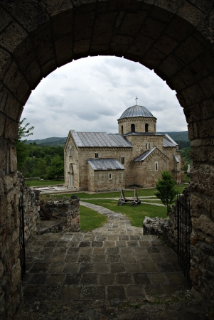 Serbian Orthodox monastery Gradac is located in the central part of Serbia, near the town of Raska.