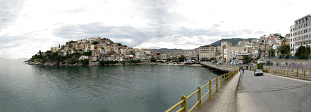 Kavala, built on the slopes of Mt. Symvolo forming one of the most picturesque cities in Greece.