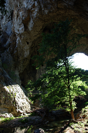 In eastern Serbia, in the gorge of the Vratna River, three natural bridges (arches) are found - Mala Prerast, Velika Prerast and Suva Prerast.
