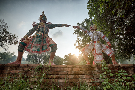 STRICTLY KHON DANCING: PERFORMERS of one of Thailands most highly regarded dances are keeping the tradition alive, despite the recent decline in popularity of the art form
