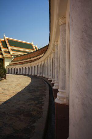 nakhon: Wat Phra Pathom Jedi Temple, Nakhon Pathom, Thailand Stock Photo