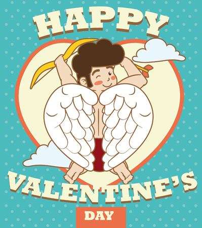 looking for: Baby Cupid floating and looking for couples in Valentines Day