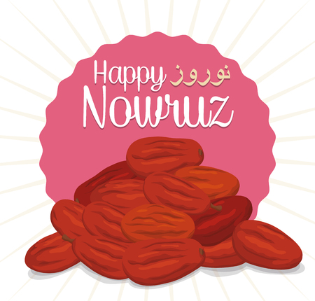 """Dried wild olive fruits or """"senjed"""" in Haft-Seen tradition, for Nowruz (Persian New Year)."""