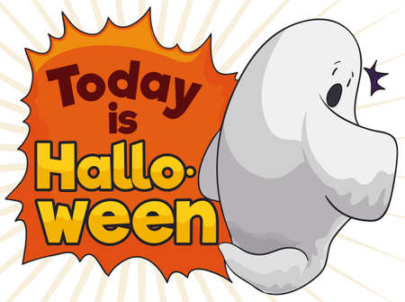 Ghost surprised for Halloween celebration when it is not prepared for the scare of this year.