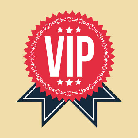 vip badge: VIP Classic Vintage Badge