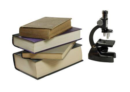 大型本 sceientific 研究で使用される小さい顕微鏡