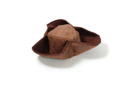 Pirate tri hat of heavy leather