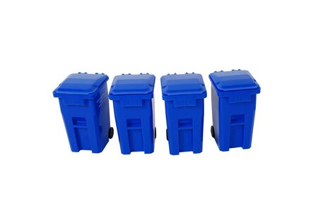 going green: Recycling bins used to collect items to be reused, Going green to help preserve our natural resources