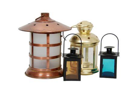 brighten: Different lanterns used to brighten the nights