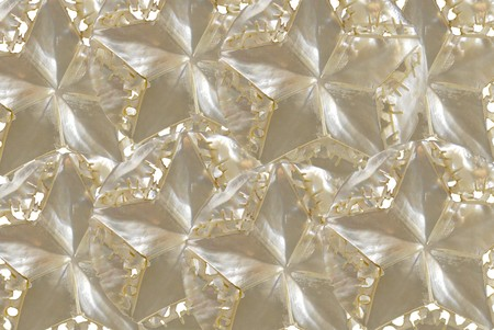five star: Five point iridescent star made from mother of pearl texture