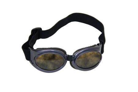 Industrial gafas con una envoltura alrededor de la banda para mantener en su lugar Foto de archivo - 4569660
