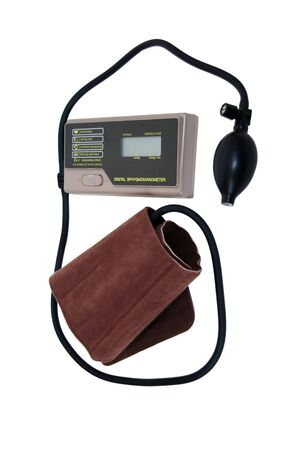 Blood pressure cuff for home monitoring for health maintenance