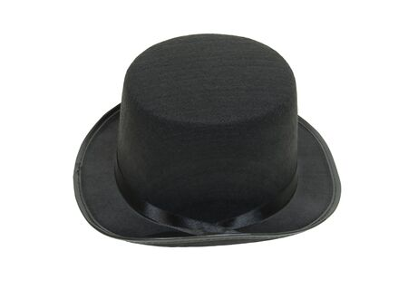 Black top hat is a formal standard accessory in male society
