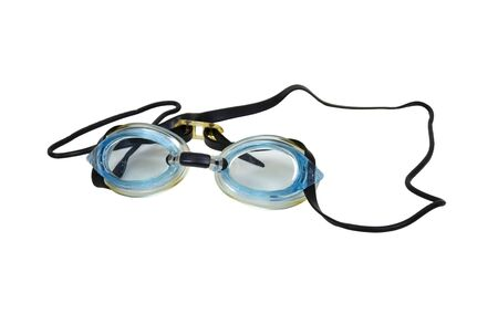 Swimming goggles used to keep water out of the eyes when swimming 版權商用圖片