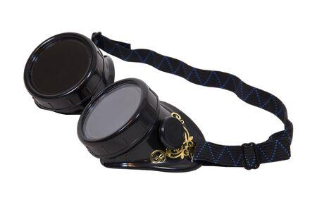 steampunk goggles: Gafas desgastado como un accesorio de moda y para proteger los ojos - ruta incluido