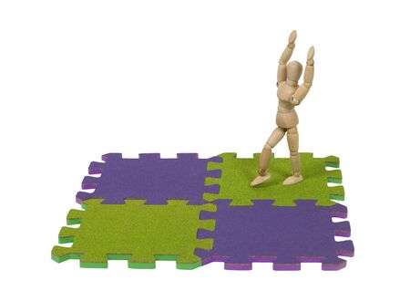 tumbling: Ready to begin gymnastics and tumbling with a graceful array of movement