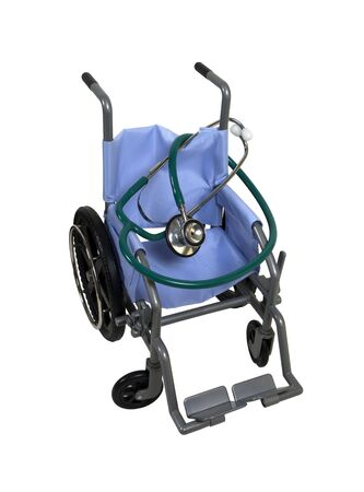 unavailable: Wheelchair used for assistance in personal transportation when ambulatory methods are unavailable - path included