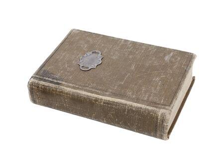 Libro antigüedad bien amado con cubierta desgastado  Foto de archivo - 7652204