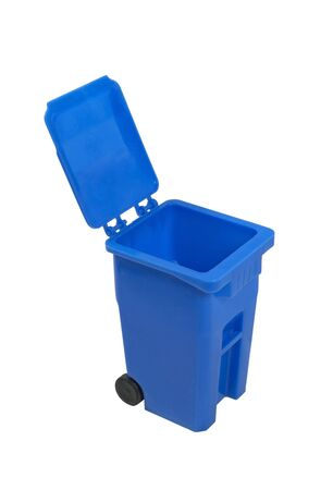 Recycle bin used to hold items to be reduced and reused to help the environment