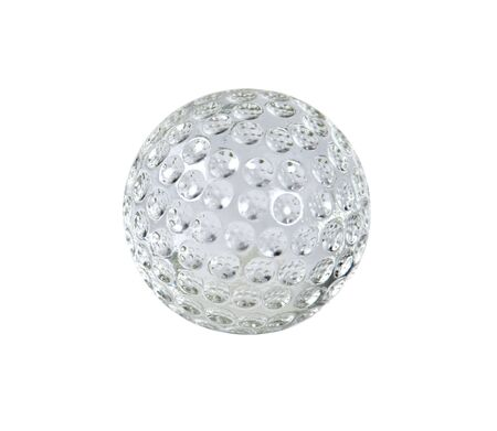 reflect: Crystal Golf with dimples that reflect the light - Path included