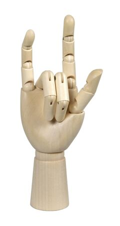 Te amo en el inicio de sesión estadounidense idioma se expresa con gestos de la mano visible para la comunicación de los sordos Foto de archivo - 8467554
