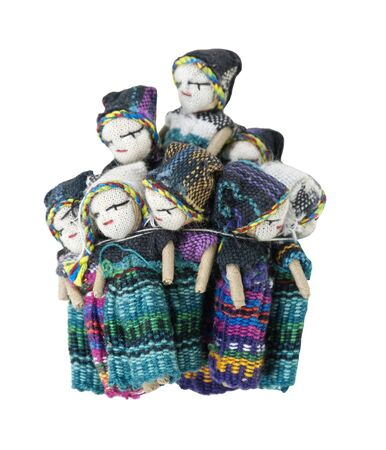 confide: Worry Dolls are used for a piece of mind. Confide to the worry dolls at night your worries to relieve yourself of stress, and have a good nights sleep - path included
