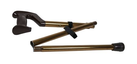 A folding cane for easy transport of an assisting tool for walking - path included