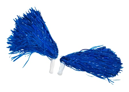 Pom poms used for cheering for sports participants - path included