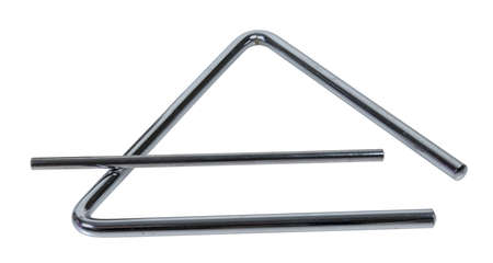 Musical triangle with striker to make sound