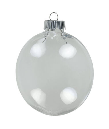 garnishments: Round Christmas ornament for decorating during the winter season - path included