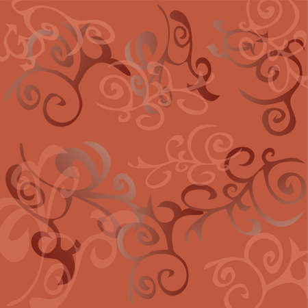gentile: Abstract background with miscellaneous element, vector, illustration, EPS10