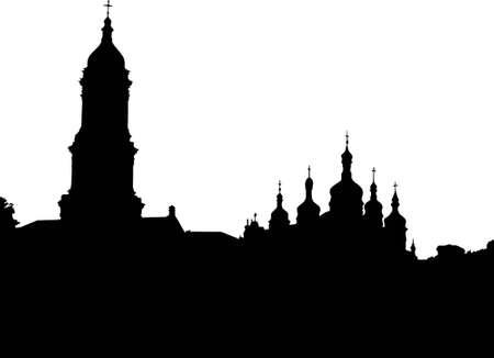 dome type: Kiev Pechersk Lavra