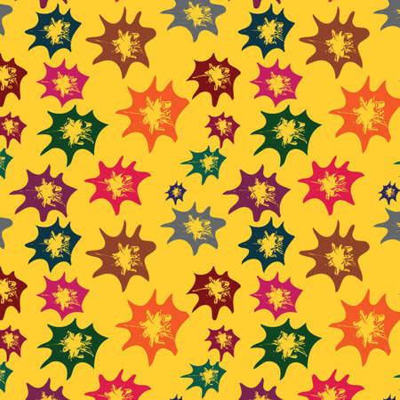 varicoloured: De fondo sin fisuras con los elementos multicolores, Vector, Vectores