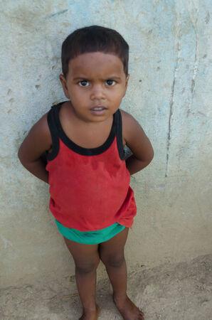 gaya: GAYA,INDIA 13 MAY 2014 - Unknow Indian male in slum of Gaya City  on 11 May 2014